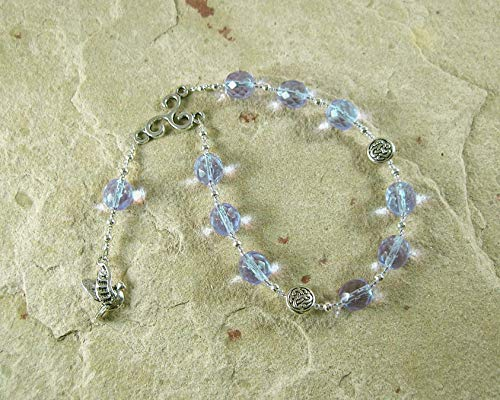 Rhiannon Pocket Prayer Beads: Welsh Celtic Goddess of Magic, Abundance and Sovereignty