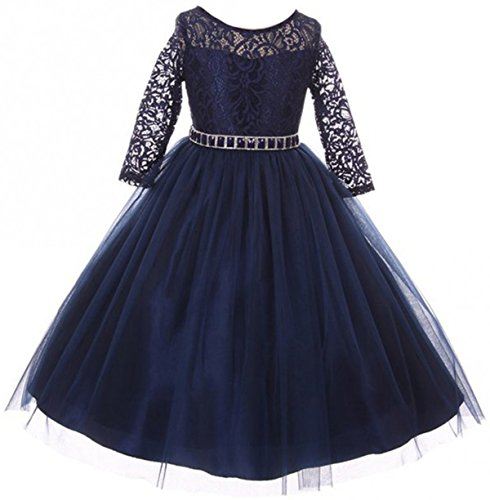 flower girl dresses 14 16 - 4