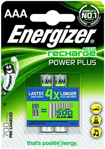 Energizer Hr 03 Aaa Accu Micro 700 Mah 2er Pack Computer Zubehör