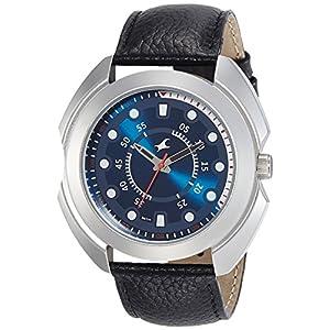 Fastrack Analog Blue Dial Men's Watch-NL3117SL04