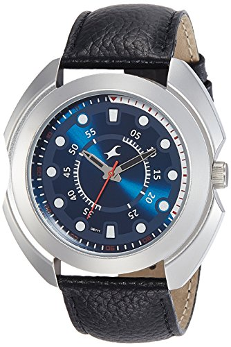 Fastrack Analog Blue Dial Men's Watch NM3117SL04 / NL3117SL04