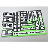 Kawasaki Stickers Decals 30x20cm vinyl with extra protection on top