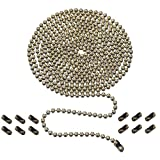 Ceiling Fan Pull Chain, 10 Feet 3mm Beaded