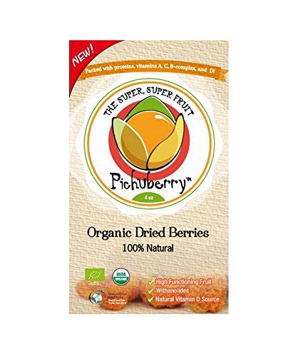 Pichuberry Organic Dried Pichuberries, 4 oz.