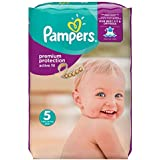 Pampers - Active fit junior 11 - 25kg (136 unidades)