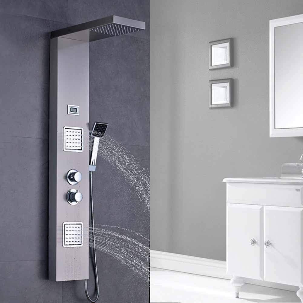 Sistema de ducha con termostato Conjunto de paneles de ducha de ...