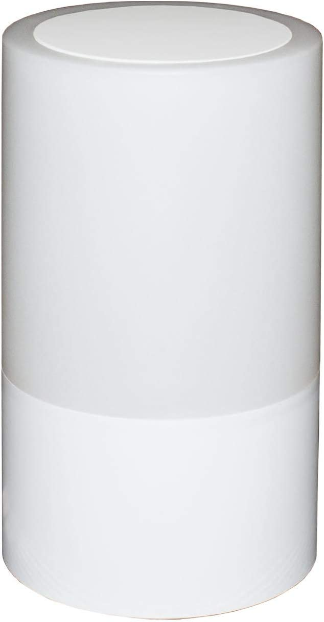 LFI -Lights - Home Emergency Table Lamp - Up to 200 hours of Emergency Light and Recharge Cell Phones - Top Touch 4 Light Level Sensor - RZLAHR (White)