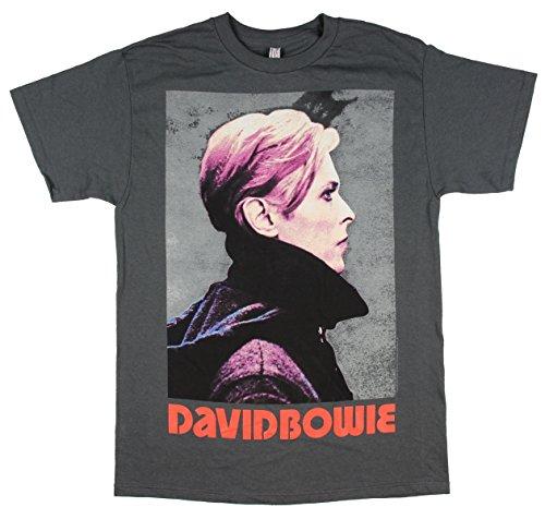 David Bowie - Low Profile - Adult T-Shirt - XL