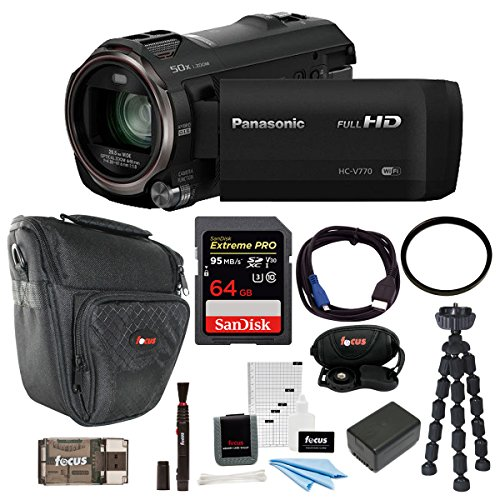 Panasonic HC-V770 HD Camcorder Bundles