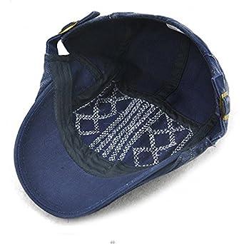 Daliuing Mens Cotton Flat Ivy Gatsby Hat Newsboy Cap Driving Hat Cap 6Colors