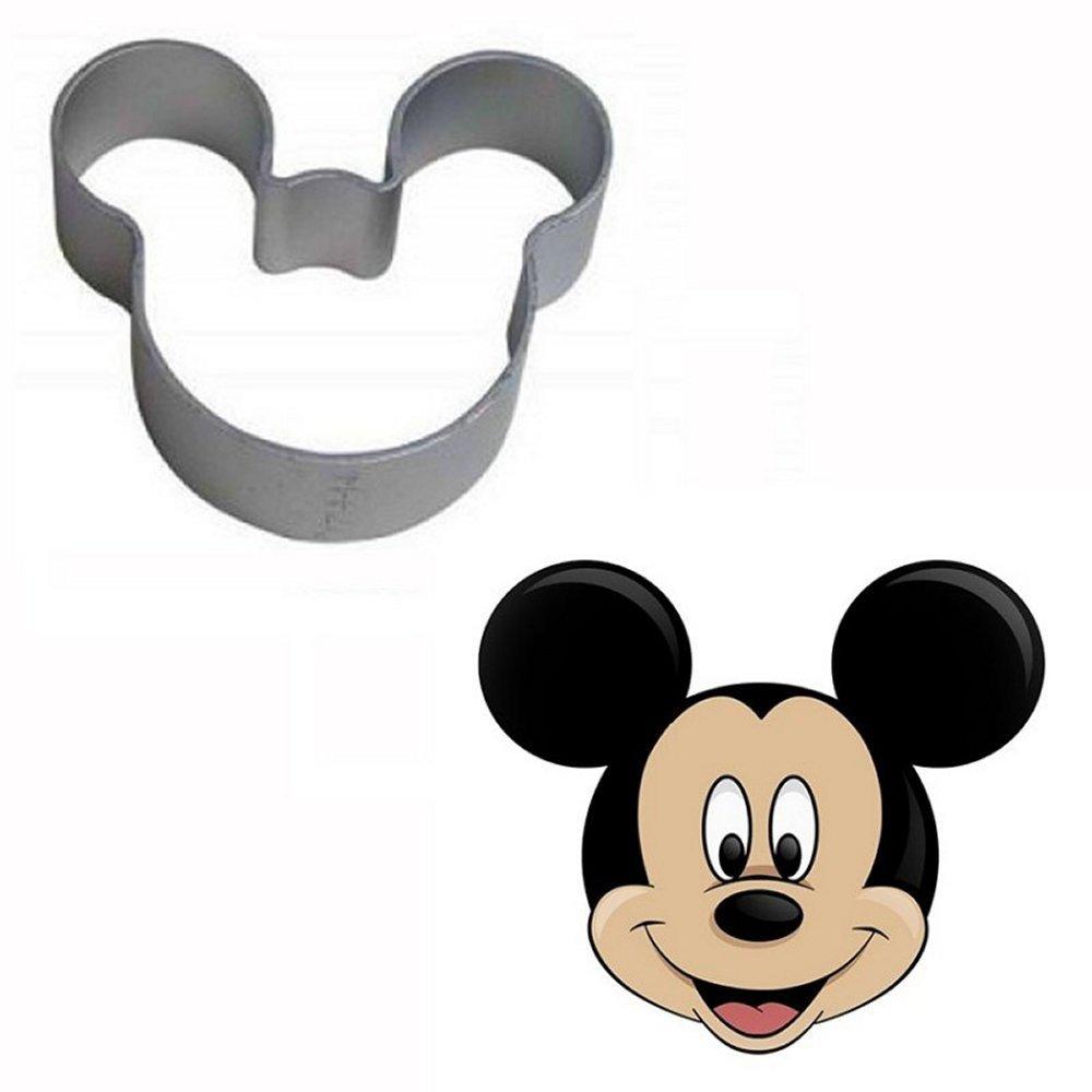 Ausstechformen für Kekse Mickey Mouse Motive Ausstech-Set Goggly Top ...