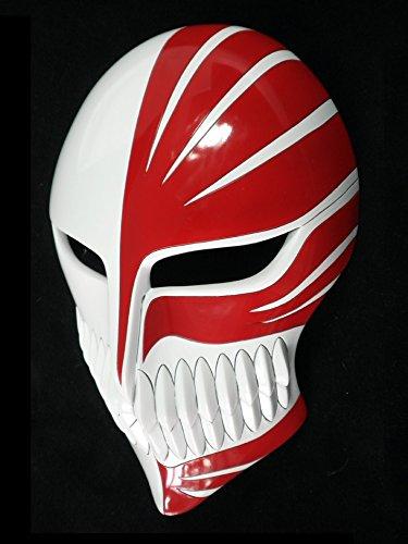 Mtxc Bleach Cosplay Prop Ichigo Kurosaki Hollow Mask Forth Stage White