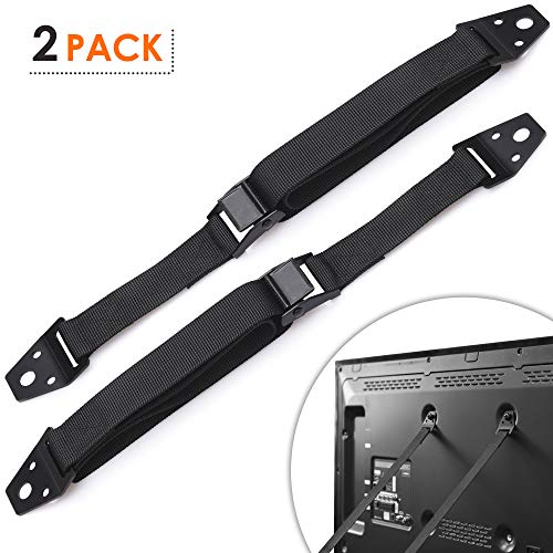 Safety Straps – Anti-Tip Strap – Baby TV Strap – TV Anchor Straps – Secure Strap – TV Earthquake Strap – TV 4 Straps – TV Tether Strap – TV Tip Strap
