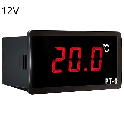 Vehículo Termómetro Digital Coche Auto LED Medidor de Temperatura ...