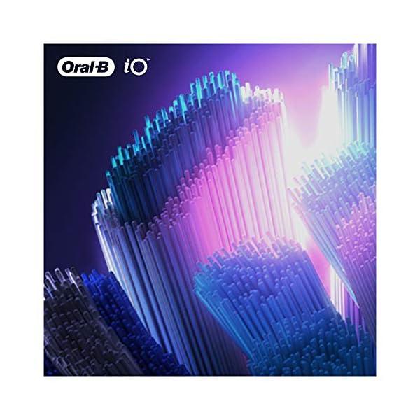 Oral-B iO Ultimate Clean Brossettes De Rechange Noires x4, Format Spécial Boîte Aux Lettres, Recharge Originale Pour…