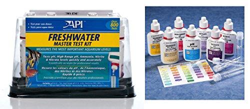 Aquarium Pharmaceuticals API Freshwater Liquid Master Test Kit (Fish Remover Tank Amonia)