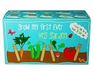Canova 39 my first ever vegetable garden 39 childrens grow kit for Gardening kit for toddlers
