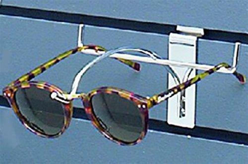 Sunglass Slatwall Eyewear Glasses Display Single Chrome Frame Lot of 100 - Eyewear Chrome