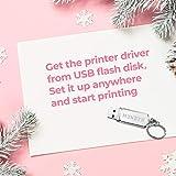 Shipping Label Printer, MUNBYN USB Pink Label