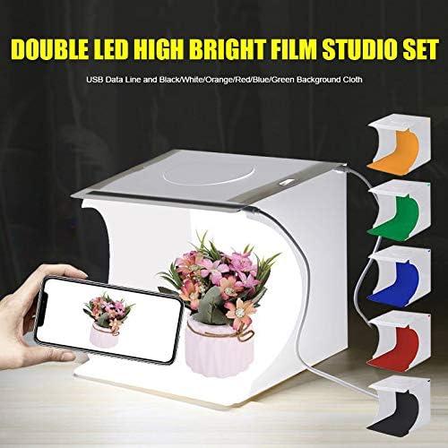 Sumerlly Portable 64 LEDs Folding Photo Lighting Studio Shooting Tent Box Kit