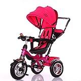 Little Bambino BW204 Tricylce Buggy Pram, Pink