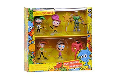 Nicktoons Fairly Odd Parents Deluxe Collector Toys (6-Pack), 2
