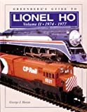 Greenberg's Guide to Lionel HO Trains, George J. Horan, 0897783395