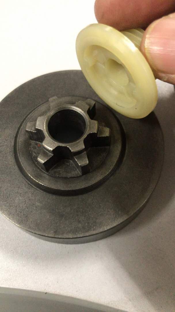 Pompe huile cha/îne et vis sans fin Tron/çonneuse Zenoah G2500//G3300//G3800//gz3500//Alpina PR270//A305//cj300//Husqvarna T425//t435//efco MT2600//125//Oleomac GS260//925/papillon//Valex//axo//AMA//Farmer//mGF 25/cc