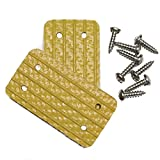 Unhinged Solutions Igloo Cooler Replacement Hinges, (Set of 2) - Unbreakable, Repurposed Fire Hose