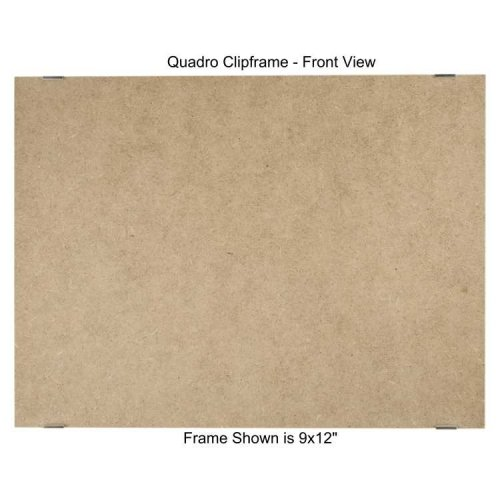 Quadro Clip Frame 9x12 inch Borderless Frame, Box of ()