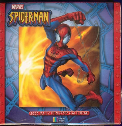 Spider-Man 2005 Daily Desktop Calendar
