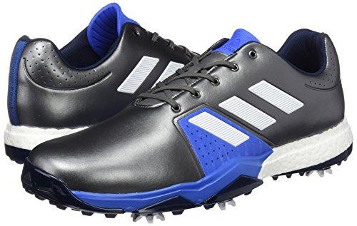 Adidas adipower Boost 96Schuhe Schuhspanner breit, Herren, Silber/Blau/Weiß, 48