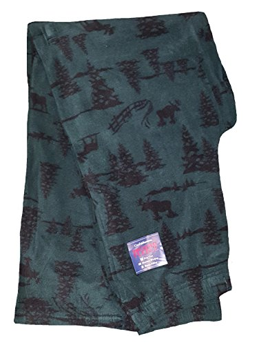 Croft & Barrow Moose & Pine Trees Brushed Fleece Sleep Lounge Pants - Large from Croft & Barrow
