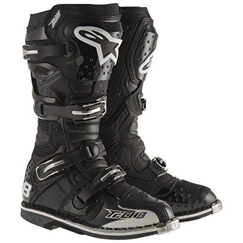 Alpinestars Tech 8 Rs Offroad Motocross Boots Nero Uomo Taglia 13 Nero