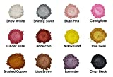 Mica Powder Pearl Pigment – 12 Pack [Giftable Set with Incredible Colors] - Cosmetic Grade Metallic Color Set – Beautiful Mica Soap Making, Slime, Bath Bombs, Make-up, Nails