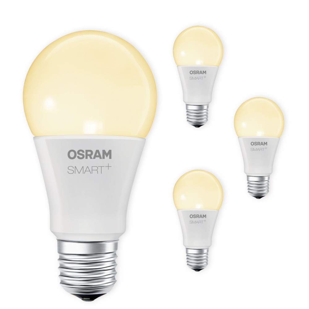 OSRAM SMART+ LED E27 Lampe 2700K warmweiß dimmbar Lightify Echo Alexa kompatibel Auswahl 4er Set
