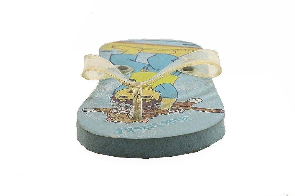 2//3 Go Diego Go Nick Jrs Boys Surf Trick Light Blue Fashion Flip Flops Sandals Shoes Sz