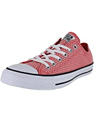 Converse Womens Chuck Taylor All Star Ox Shoes - Ultra Red/Black/White