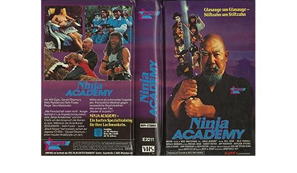 Ninja Academy [Alemania] [VHS]: Amazon.es: Will Egan, Gerald ...