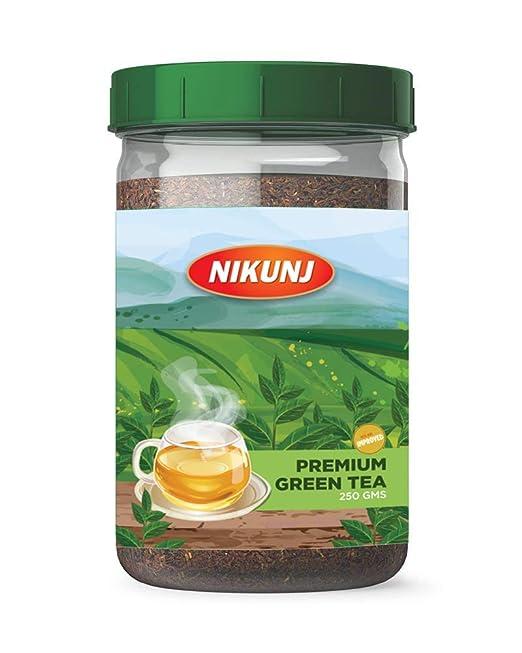 Nikunj Premium Green Tea Jar, 250g