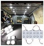 12V 40 LEDs Van Interior Lights White LED Lamp