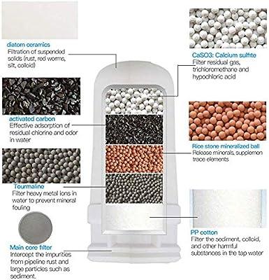 purely life Monte Grifo filtros de Agua purificador de Agua Saludable Filtro del Sistema de Filtro Filtro de Agua Potable Filtro de Repuesto: Amazon.es: Hogar