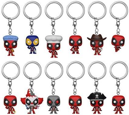 Marvel Comics Deadpool Collectors Key Ring Blind Bag Series 1 NEW UNUSED