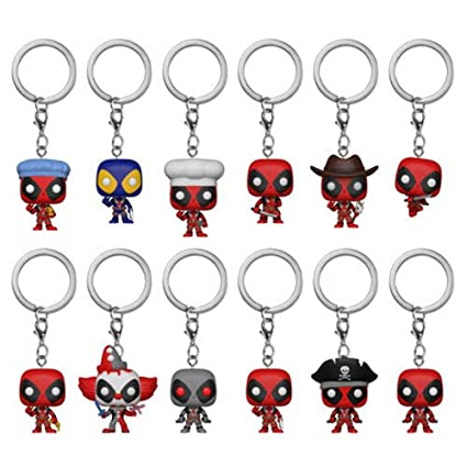 Funko Blind Bag Keychain: Marvel - Deadpool (One Mystery Figure)