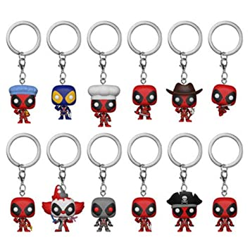 Llavero Pocket Pop Marvel Deadpool Surtido: Amazon.es ...