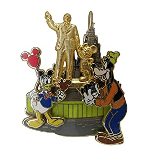 Disney Pin #66856: WDW – Donald & Goofy At The Partners Statue