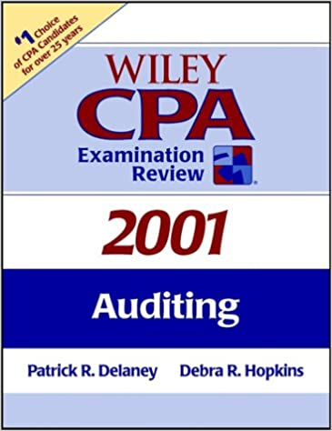 Wiley CPA Examination Review, Auditing