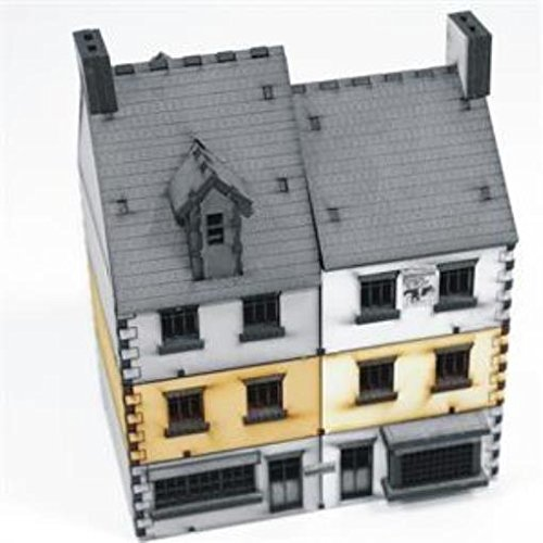 Europe At War - Buildings 15mm Shop Type #2 - Add-On (Pre-Painted)