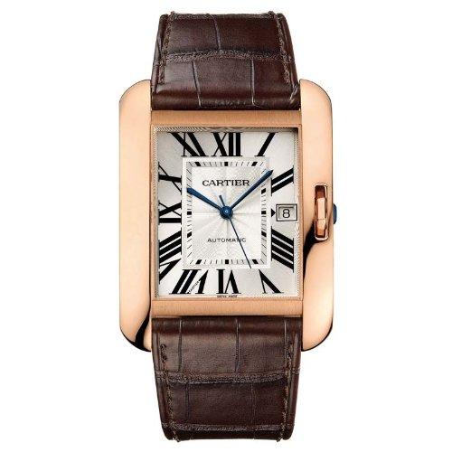 Cartier Tank Anglaise Reloj de Hombre automático Color marrón W5310004: Amazon.es: Relojes