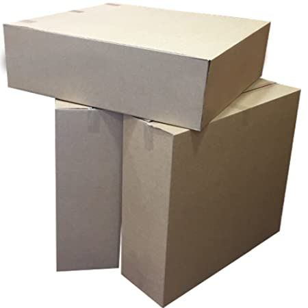 229 x 229 x 229mm 9 Inch Square Cubes Packing Mailing Shipping Postage Postal Cartons 10 Small Brown Cardboard Packaging Boxes Size 9 x 9 x 9